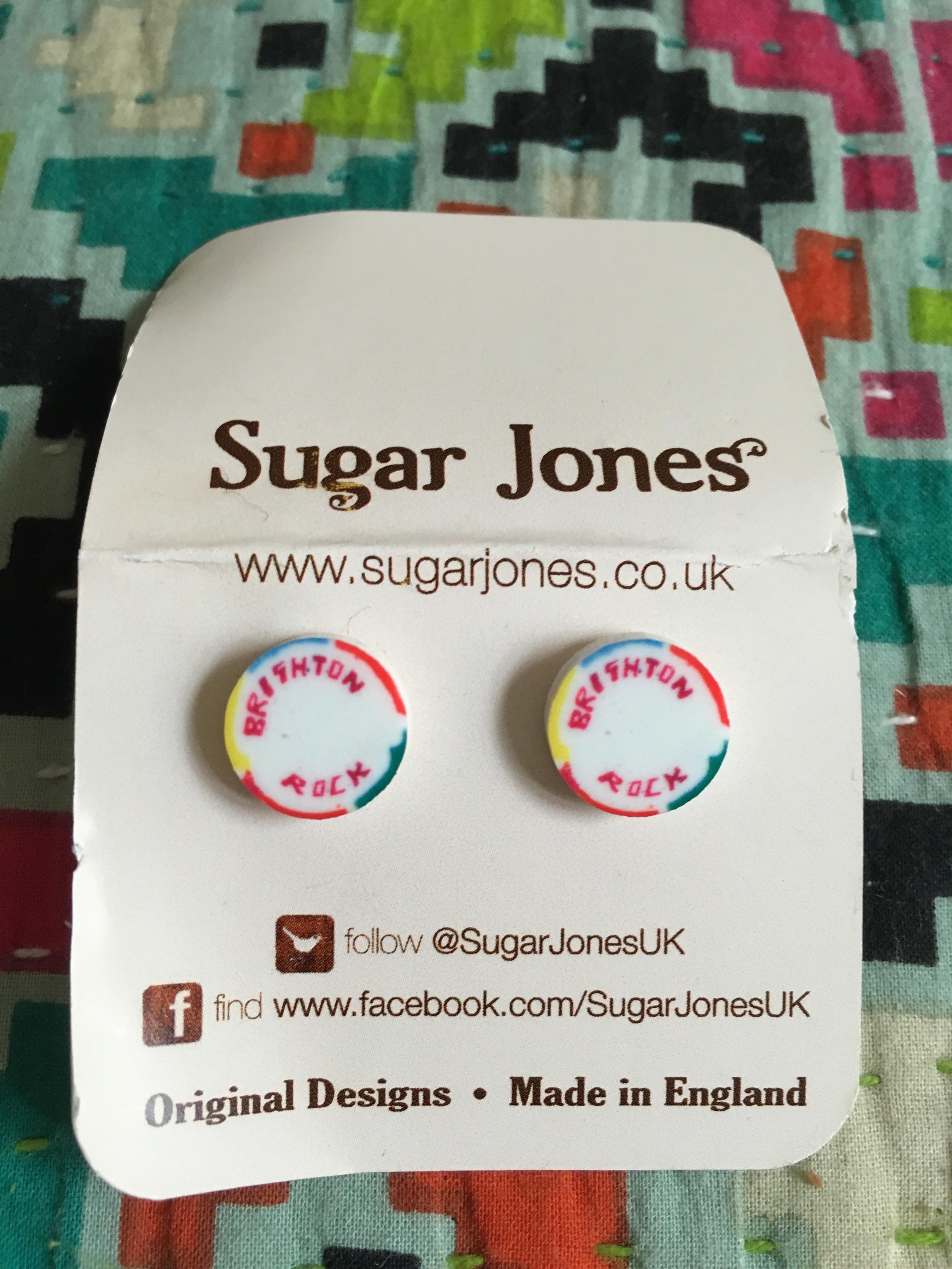 Day 14 & Brighton Rock earrings from Sugar Jones