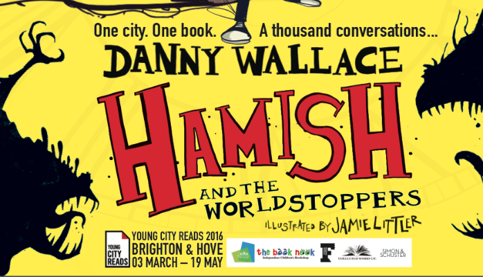 Young City Reads - Danny Wallace - Hamish and the Worldstoppers
