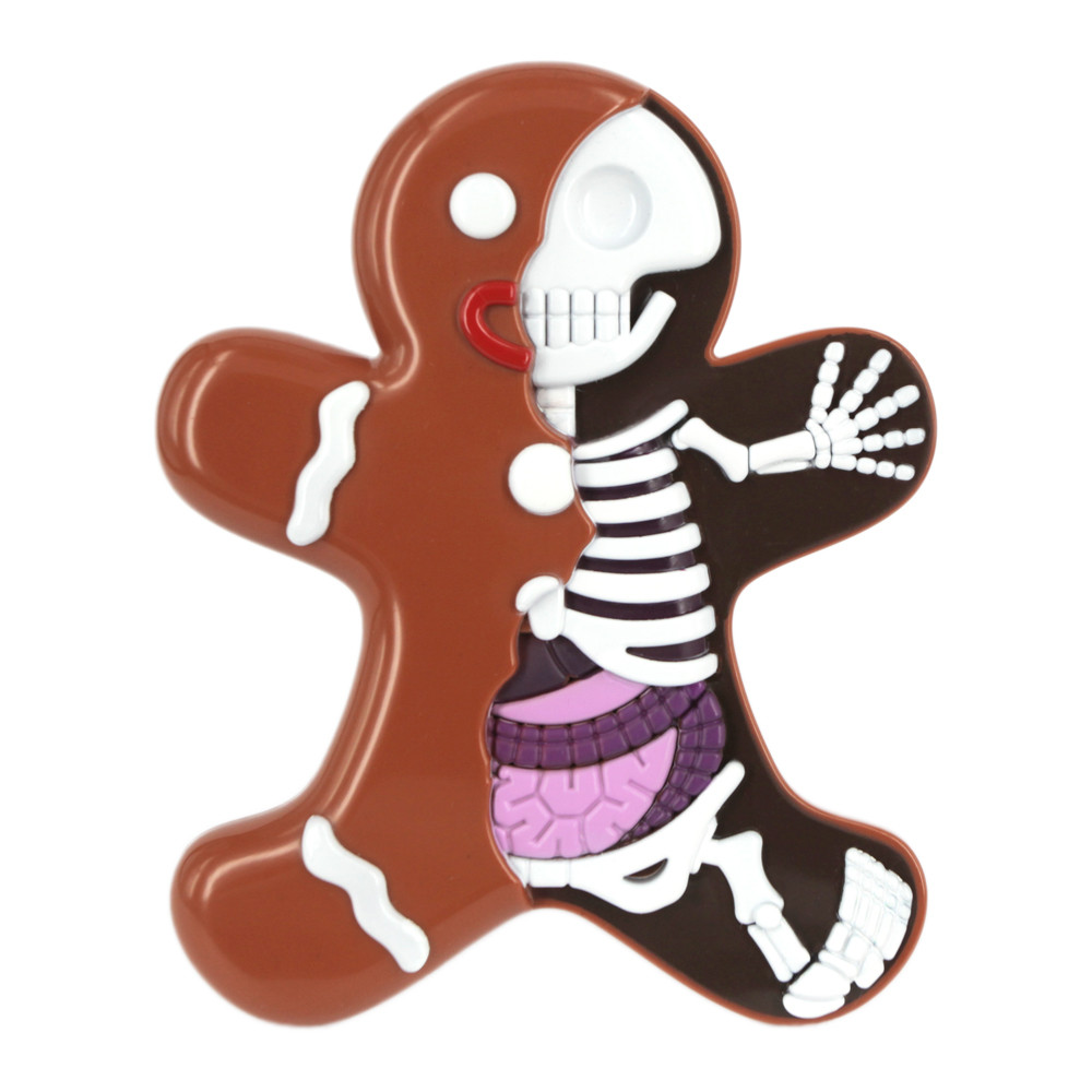 Jason Freeny - Dissected Gingerbread Man - £19