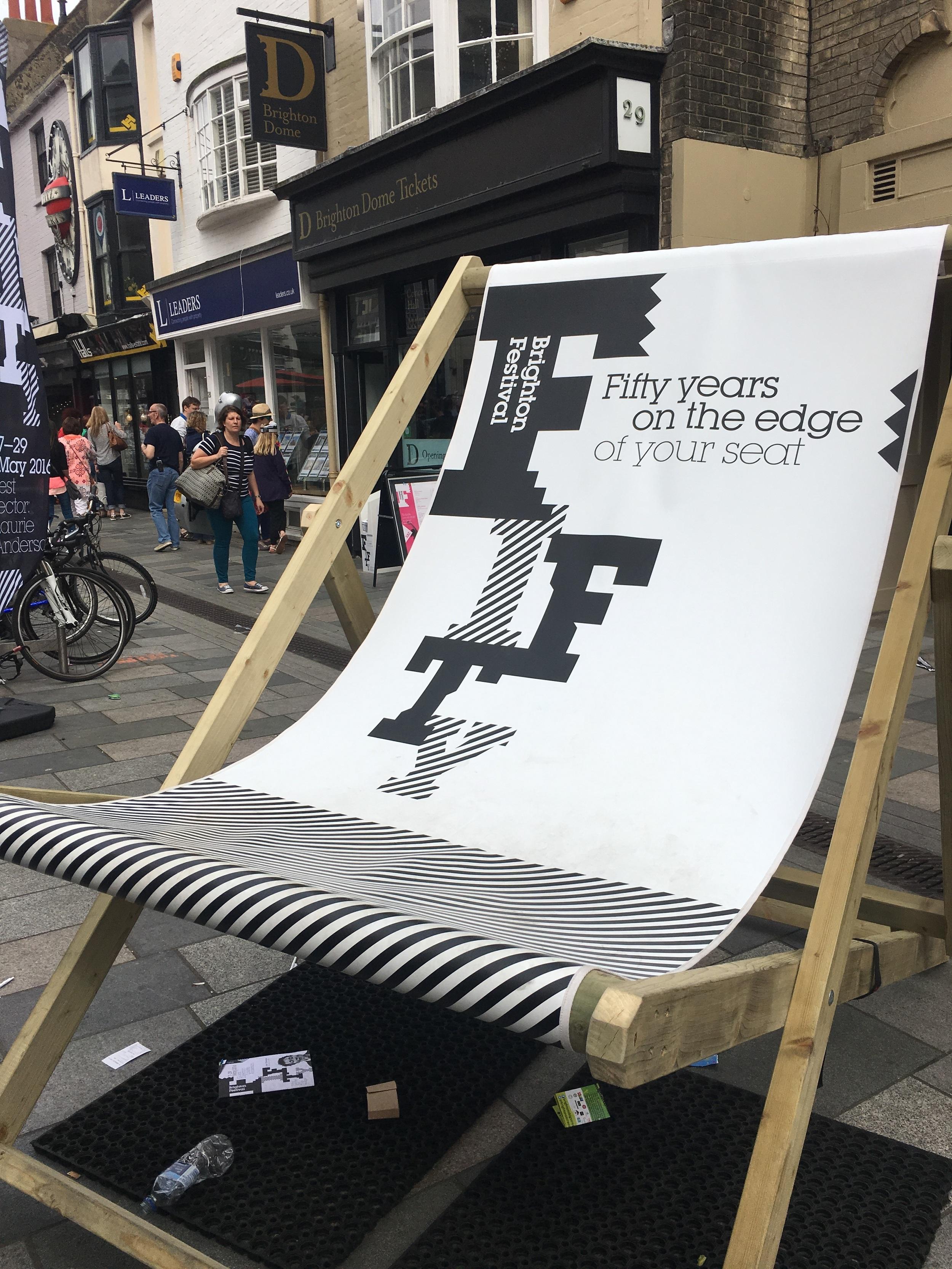 Brighton Festival has started