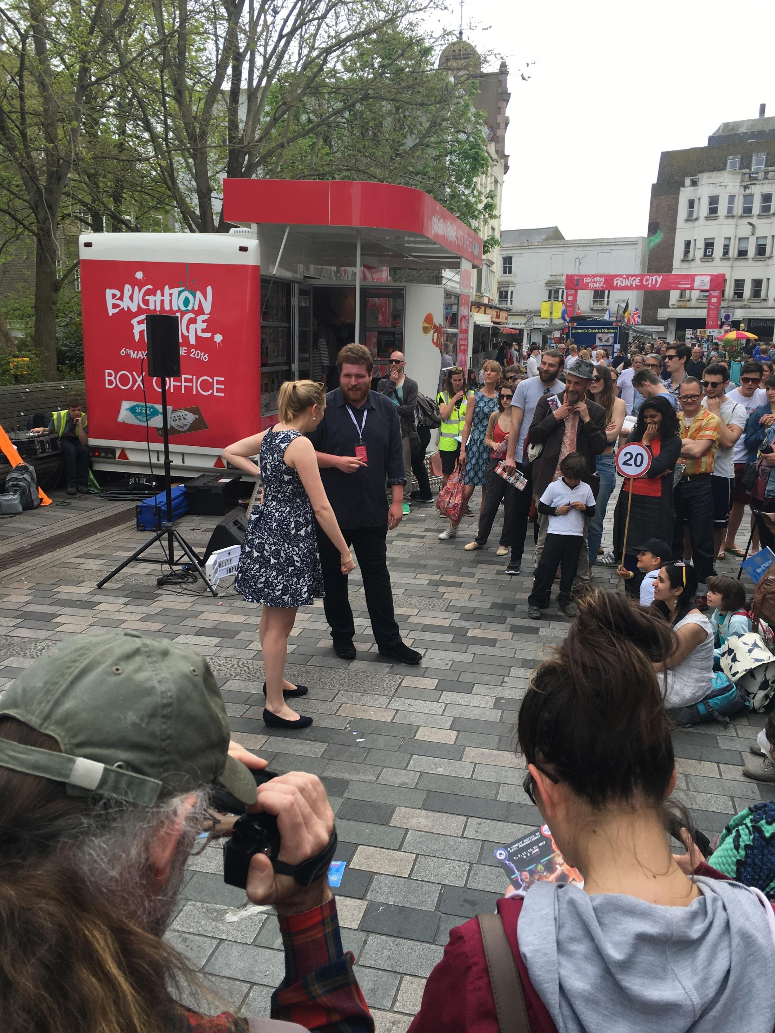 Improv Comedy in Fringe City