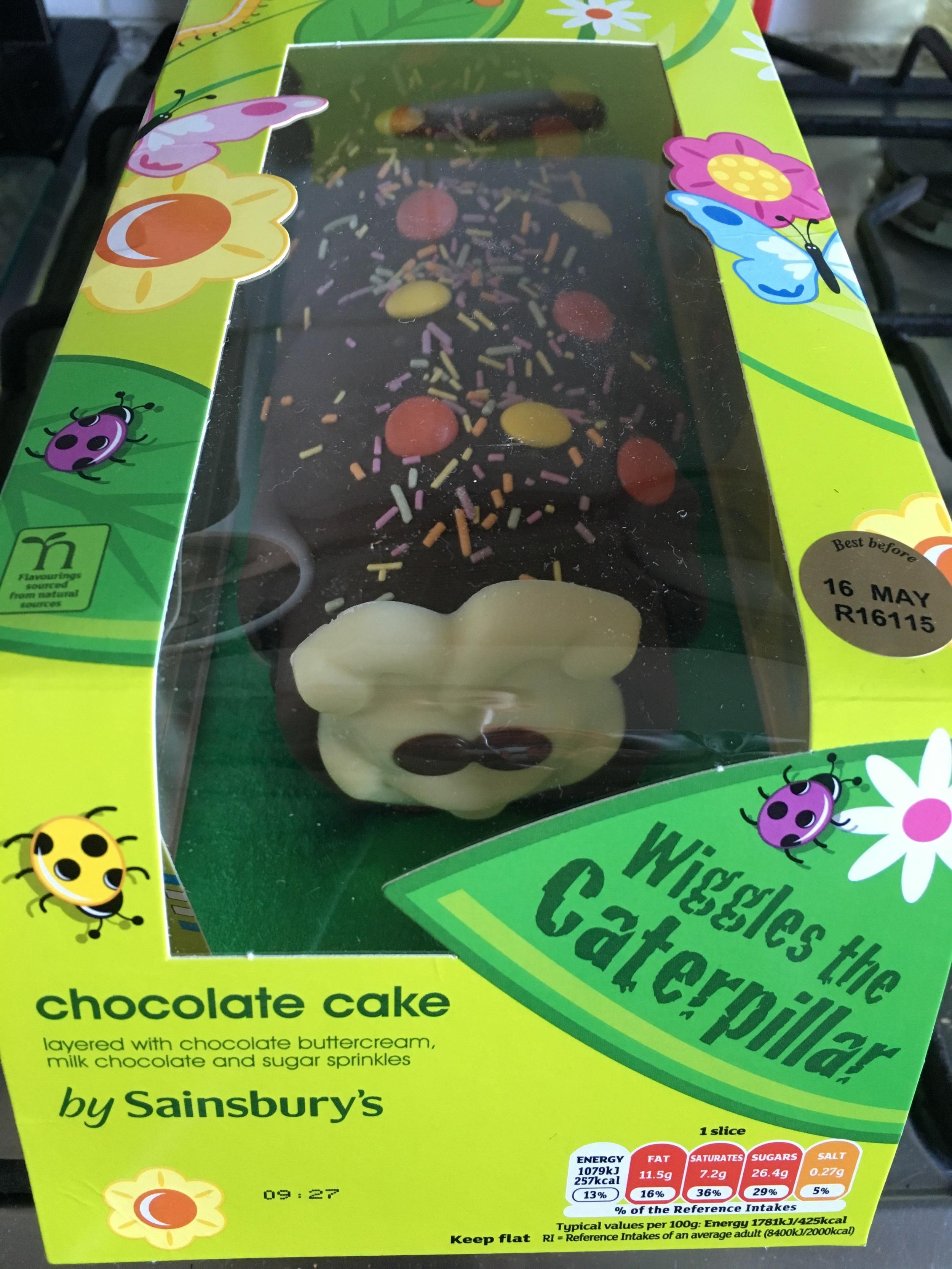 Mrs Penguin's birthday cake