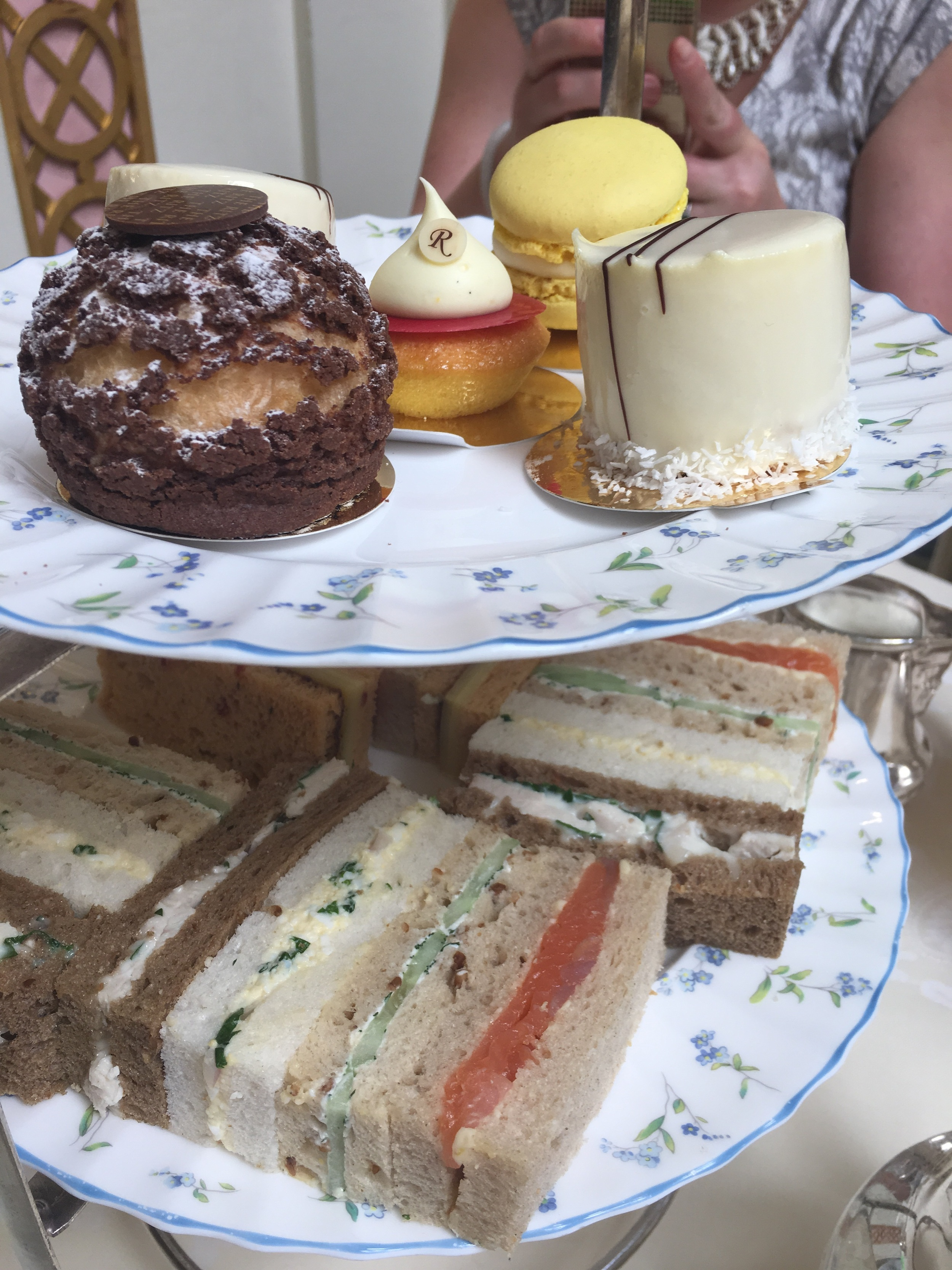 Tea at the Ritz celebrating my mum's 70th Birthday