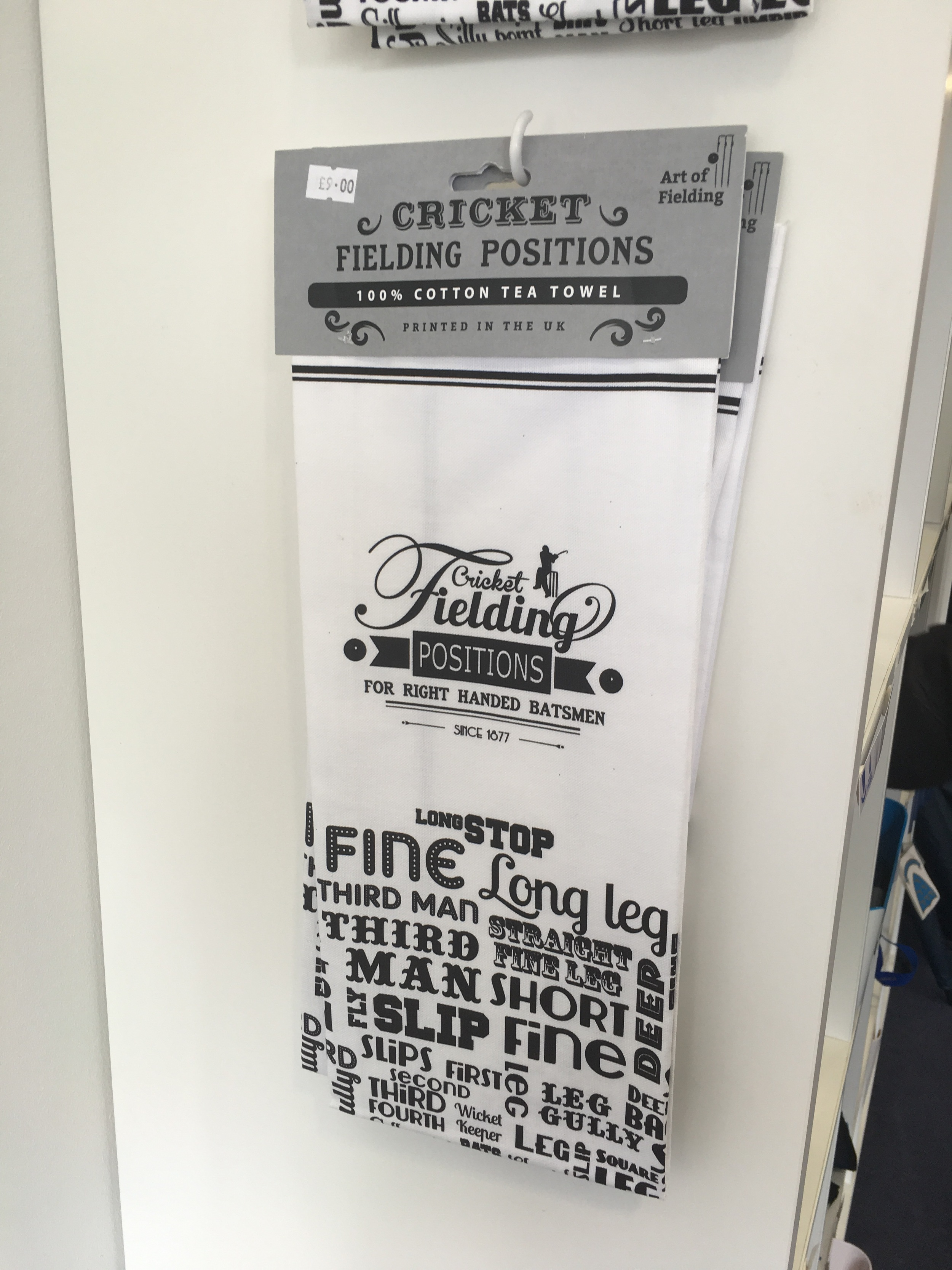 Art of Fielding tea towel & prints available at Sussex Cricket Ground http://www.artoffielding.co.uk