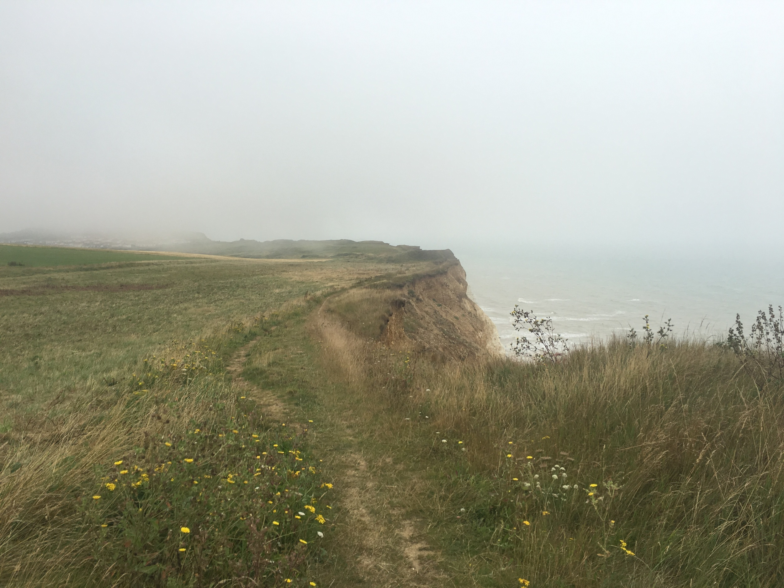 The cliffs from Newhaven