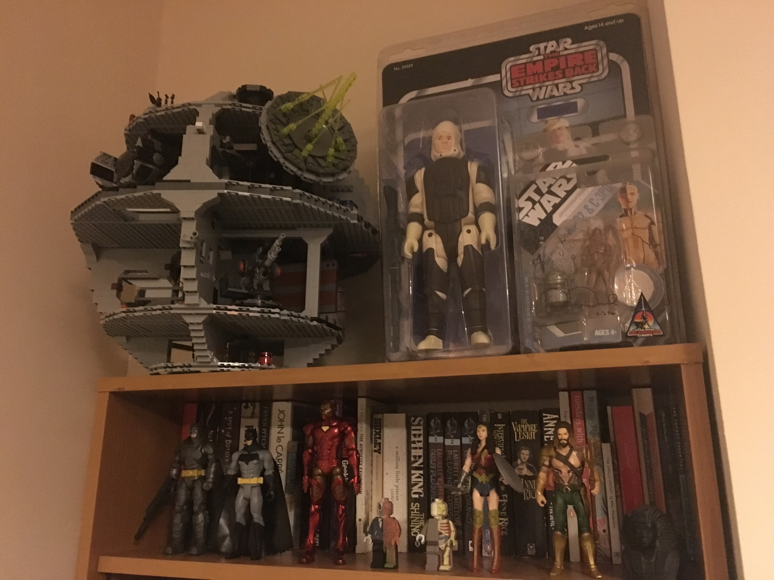 My Star Wars collection (and some superheroes)