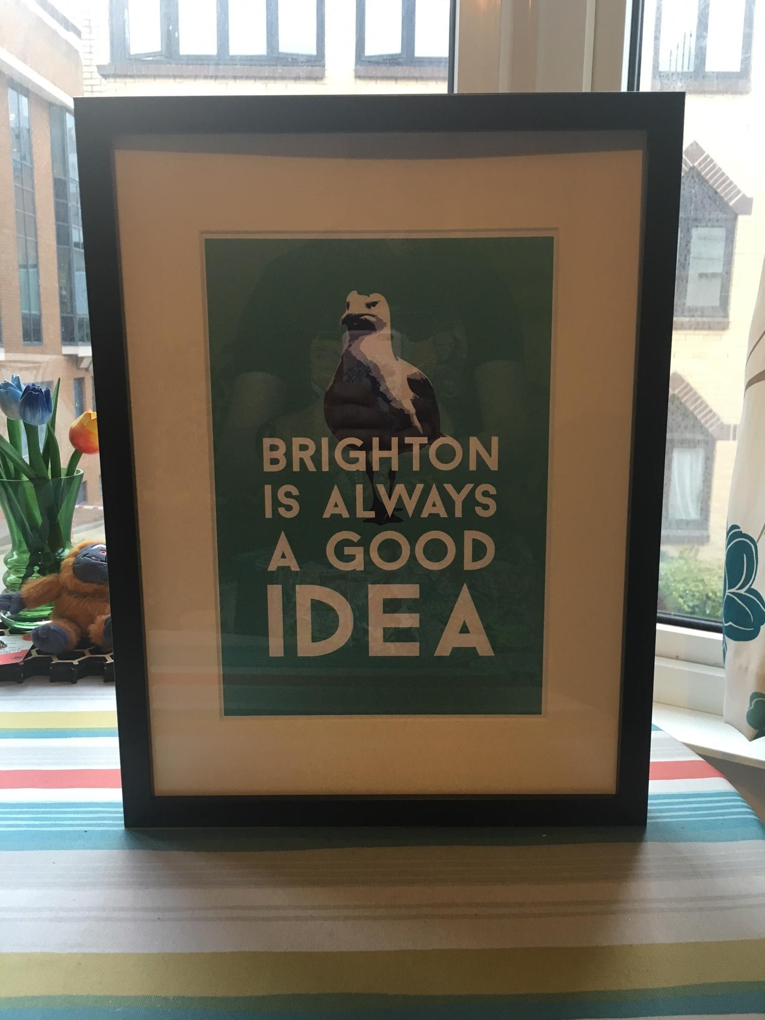 Ink Pixel - Brighton is a Good Idea Print