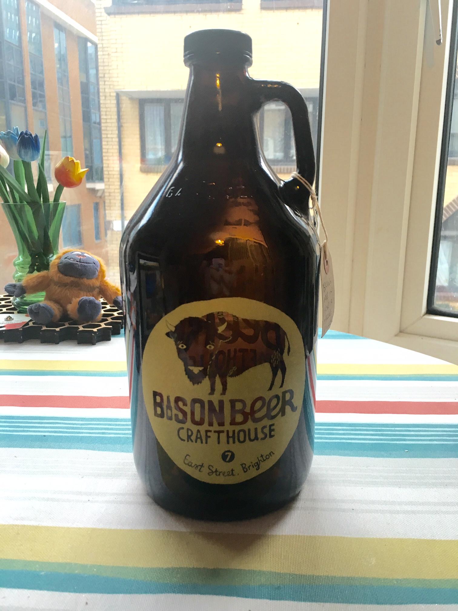 Bison Beer - Growler