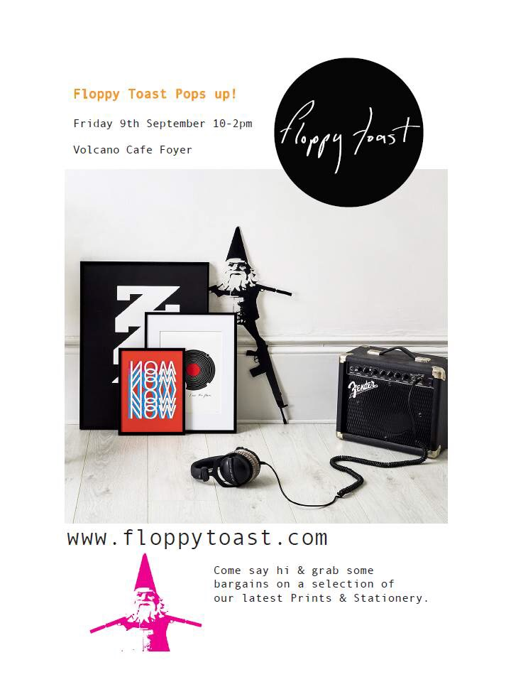 At work we had the Floppy Toast popup