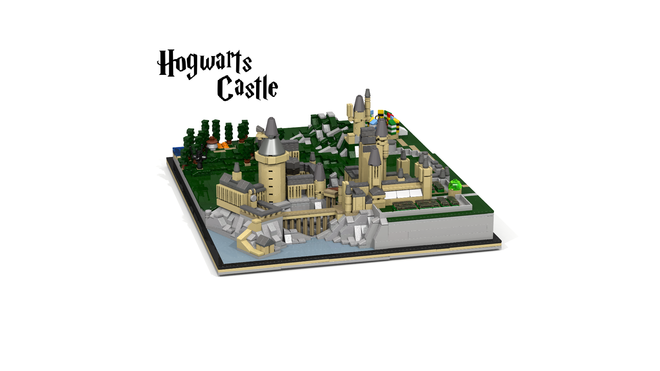 Hogwarts Castle Miniature Model   As of 19/2/17 - 2380 supporters, 525 days left   Read More
