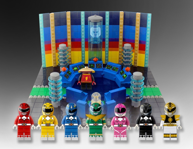Power Rangers in Lego Form.  Read More