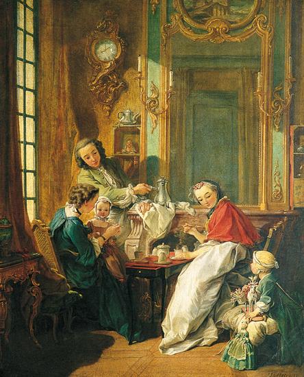 Francois Boucher,  Le Dejeuner