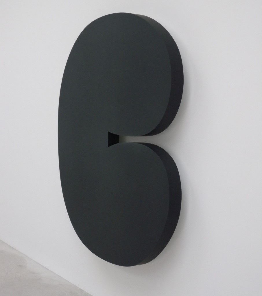 Ellsworth Kelly,  Black Form , 2011.