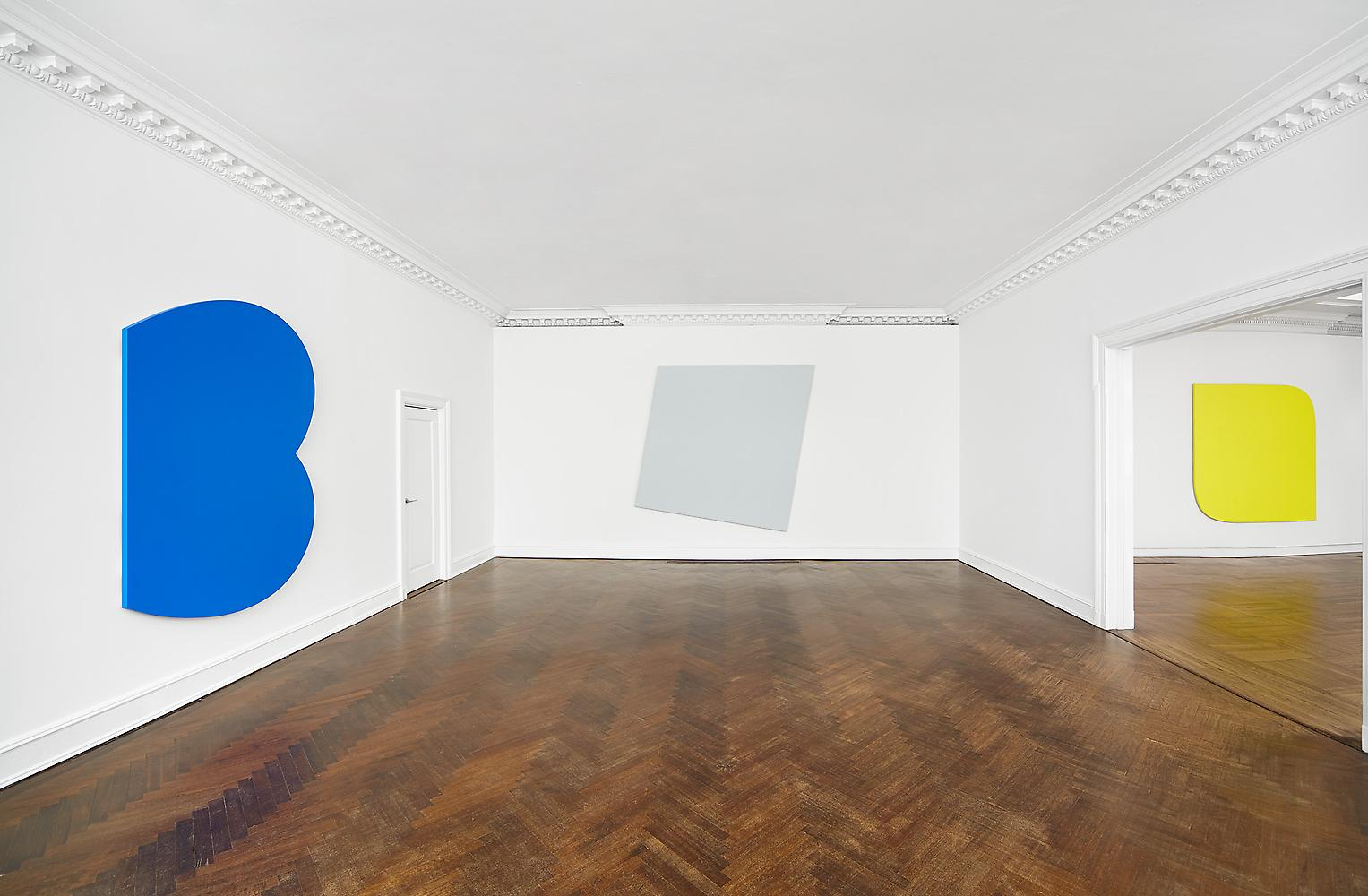 Ellsworth Kelly, The Mnuchin Gallery   Singular Forms 1966-2009   exhibition (2013).