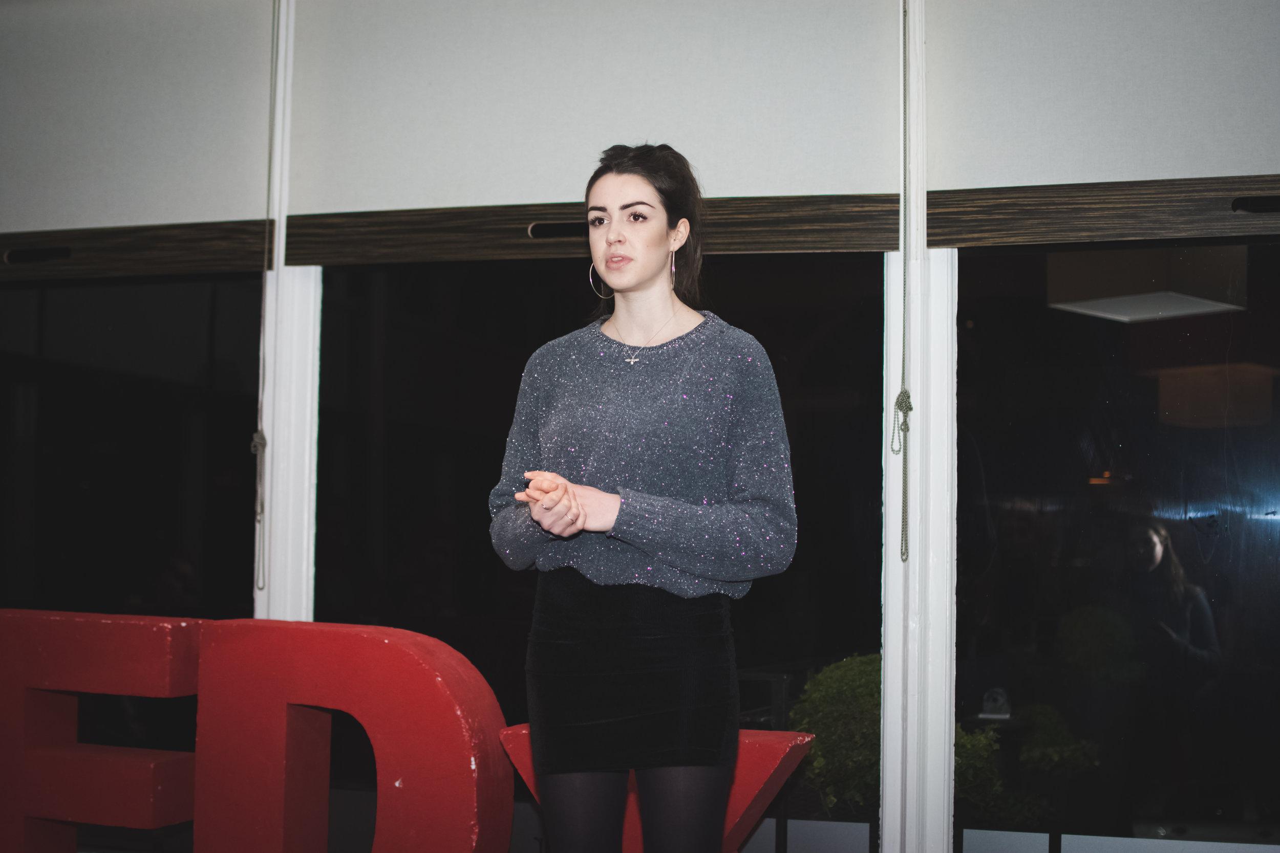 Copy of Student Speaker Finalist: Briony Sturgis