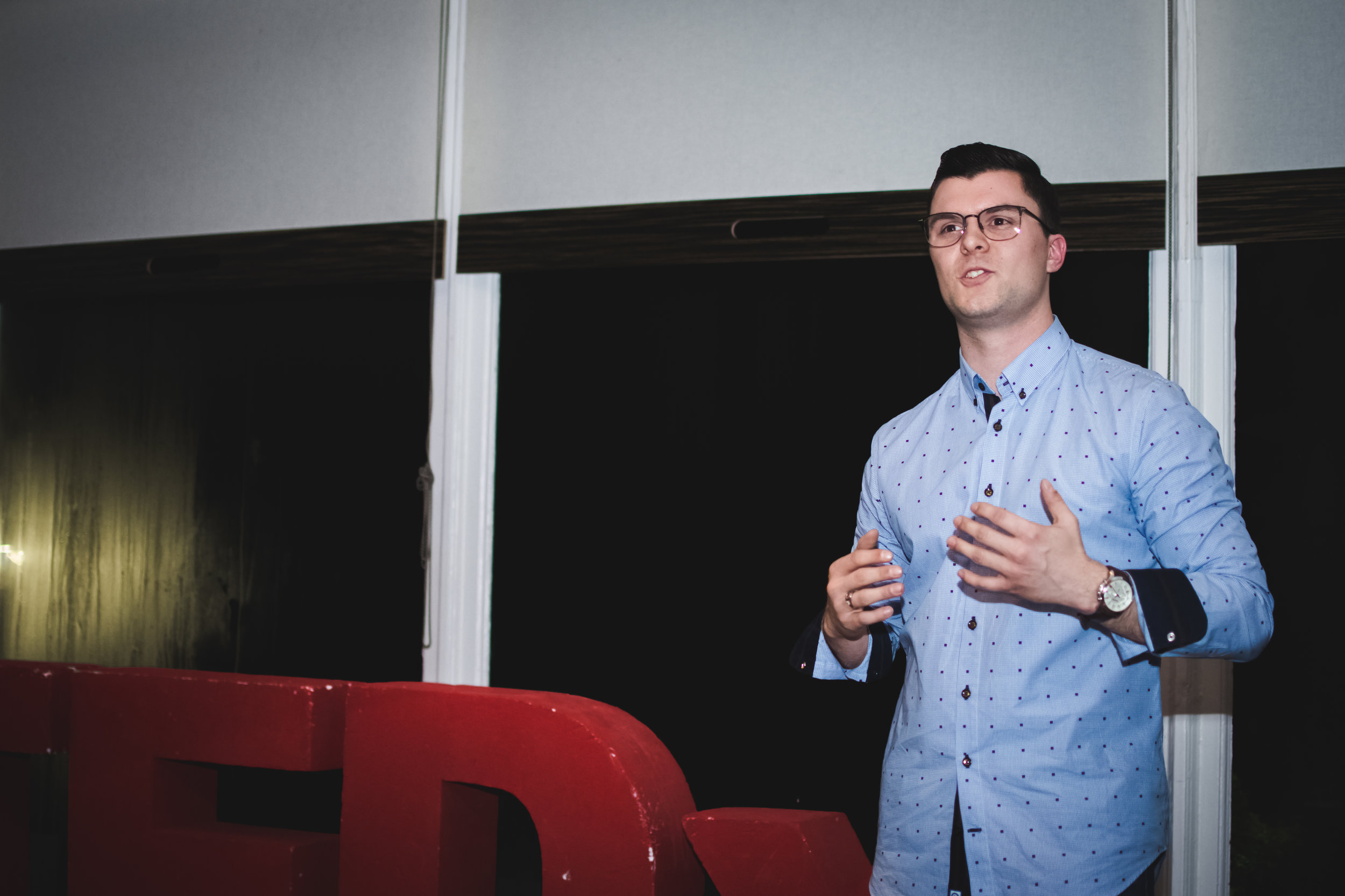 Copy of Student Speaker Finalist: Mitch Bloemberg