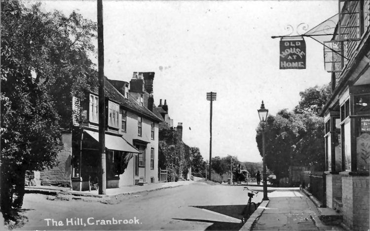 Old House at Home Pub, Cranbrook, 1915