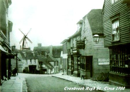 Cranbrook High Street, 1900.