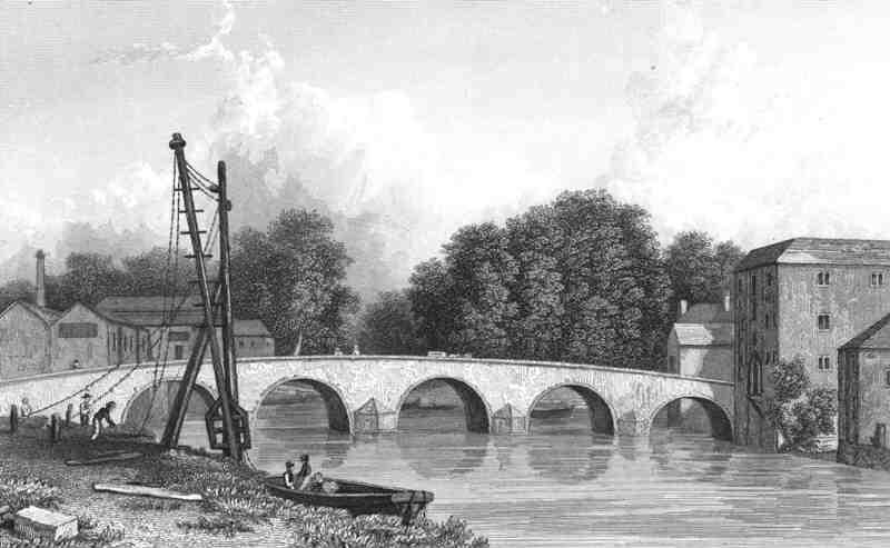 Maidstone bridge.