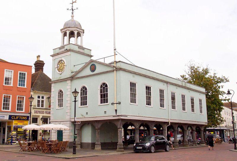 Faversham market.