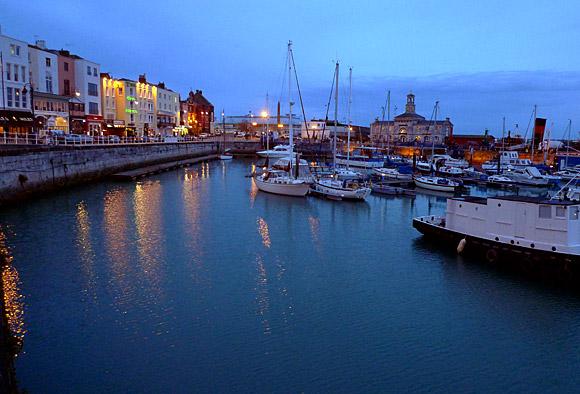 Ramsgate harbour, Kent.