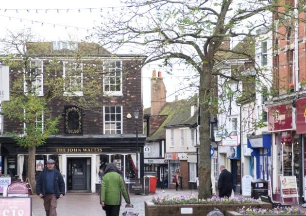 Middle Row Ashford, Kent.
