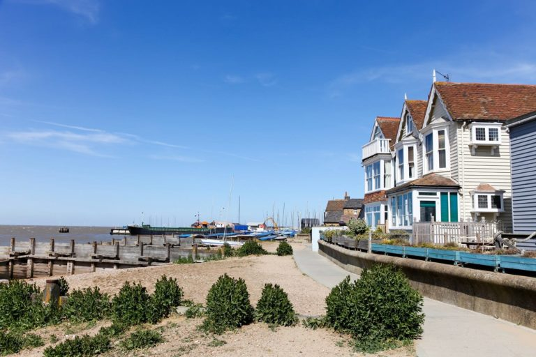 Whitstable sea front, Kent.