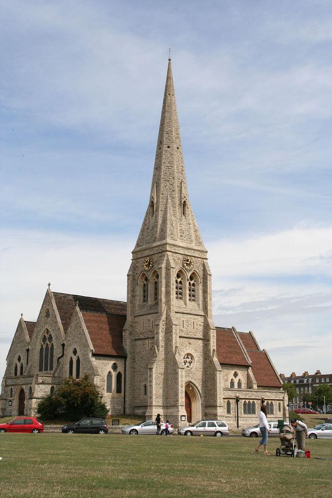All Saints Blackheath, South London.