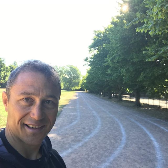 Central London: running track surrounded by Alder , Oak, Hawthorn an inspirational place to train for Greenland Expedition in the summer #enjoylife #trekking #expedition #expeditiontraining #lovenature #londonlife @turnwild