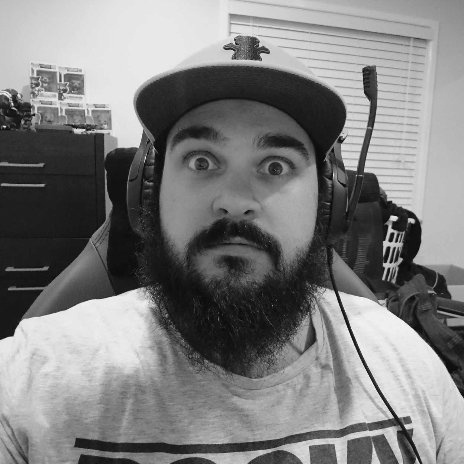"""BRAD """"CHESSIE"""" MULCHAY   Some might say he is the better looking half of Two Gamers One PC, while many would disagree immediately. Dirty metal worker turned content creator / part time streamer.  First Person Shooters are definitely his forte as his short attention span seems to be perfect for games like Battlefield 4 and PUBG."""