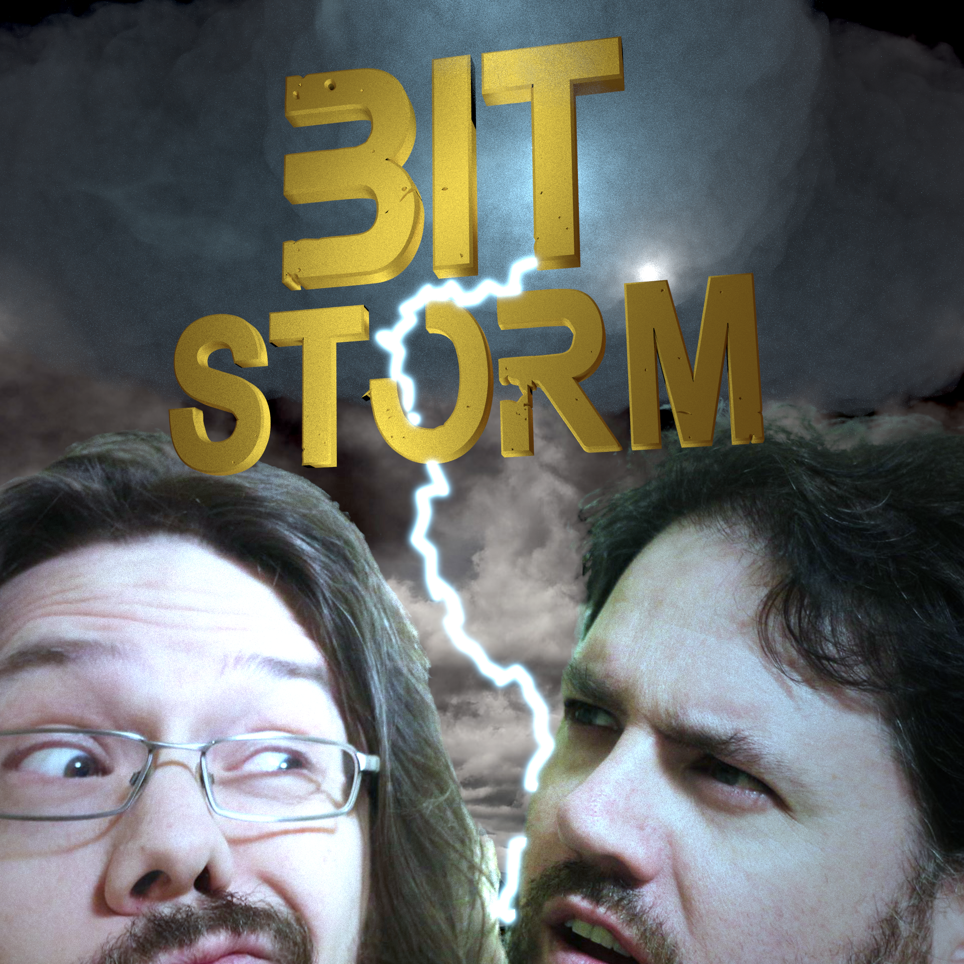 BIT STORM    A comedy game design podcast by two guys who know nothing about comedy nor game design.  Join Trevor Scott and Ben Slinger as they take prompts from random word generators, movies, game titles and more and turn them into occasionally hilarious but always interesting game designs.