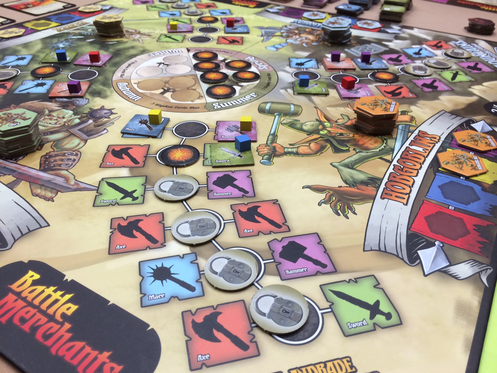 Battle Merchants - Meaningful Decisions: Gil Hova on Design Choices in Battle Merchants