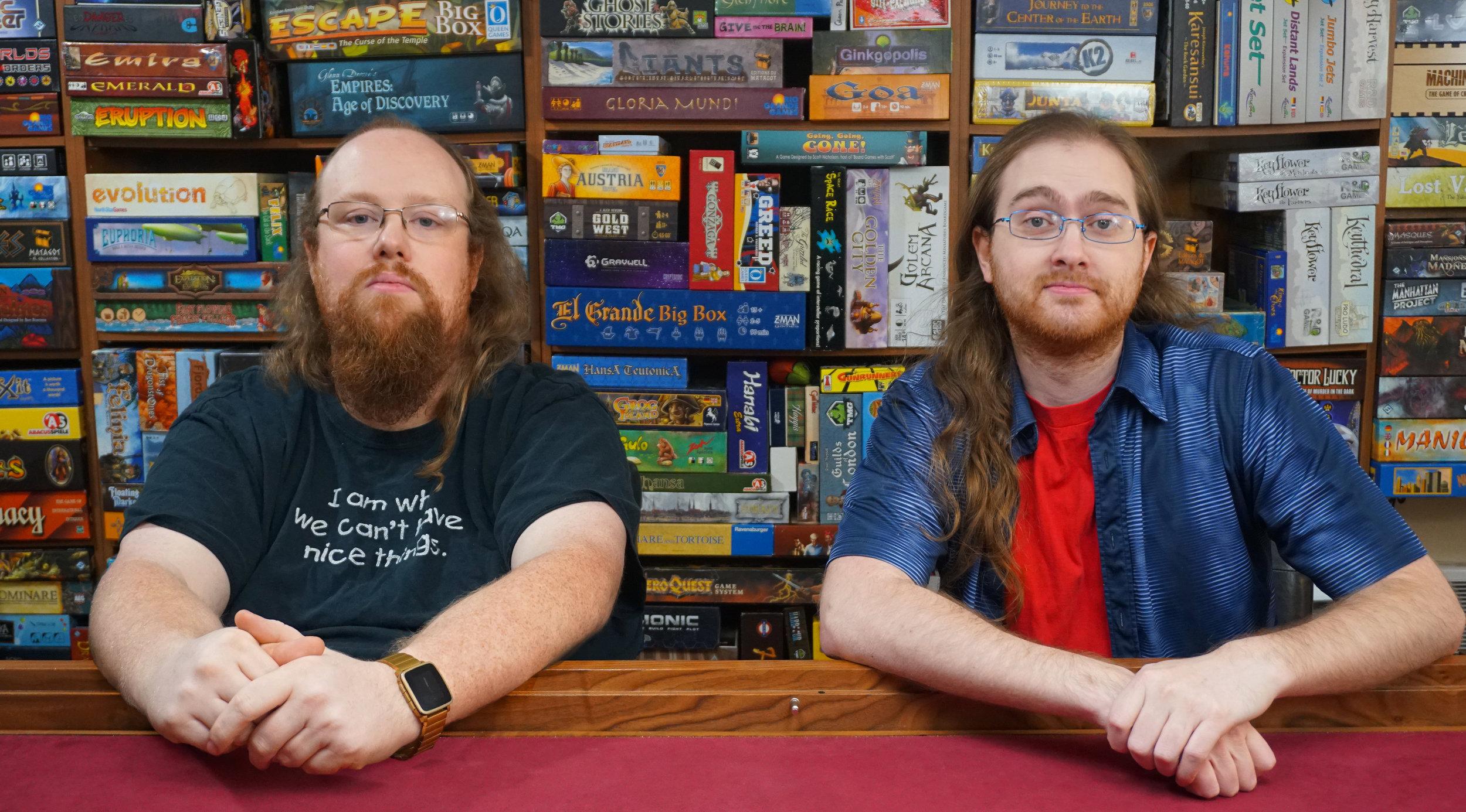 Rob and Sean Moore
