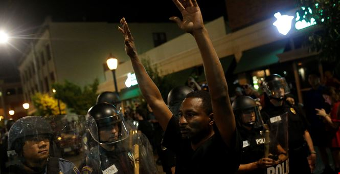 Townhall: If 'Hands Up, Don't Shoot' Is a Myth Why Do So Many Black Americans Believe It?