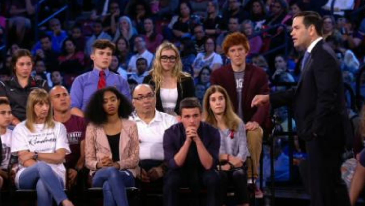 CNN town hall on gun policy in America