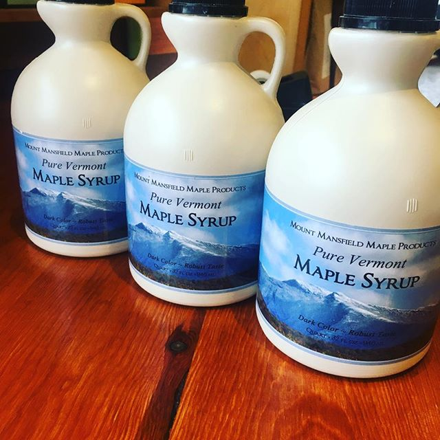 We are running a buy one, get one 50% special on this fabulous maple syrup. It is produced by Mt. Mansfield Maple, which is located in Vermont. This grade A syrup has a robust flavor that can not be beaten! #carltonbakery .. #patisserie #boulangerie #europeanstyle #mtmansfieldvt #maplesyrup #puremaplegoodness #gradeA #special #buyone #getone #halfoff