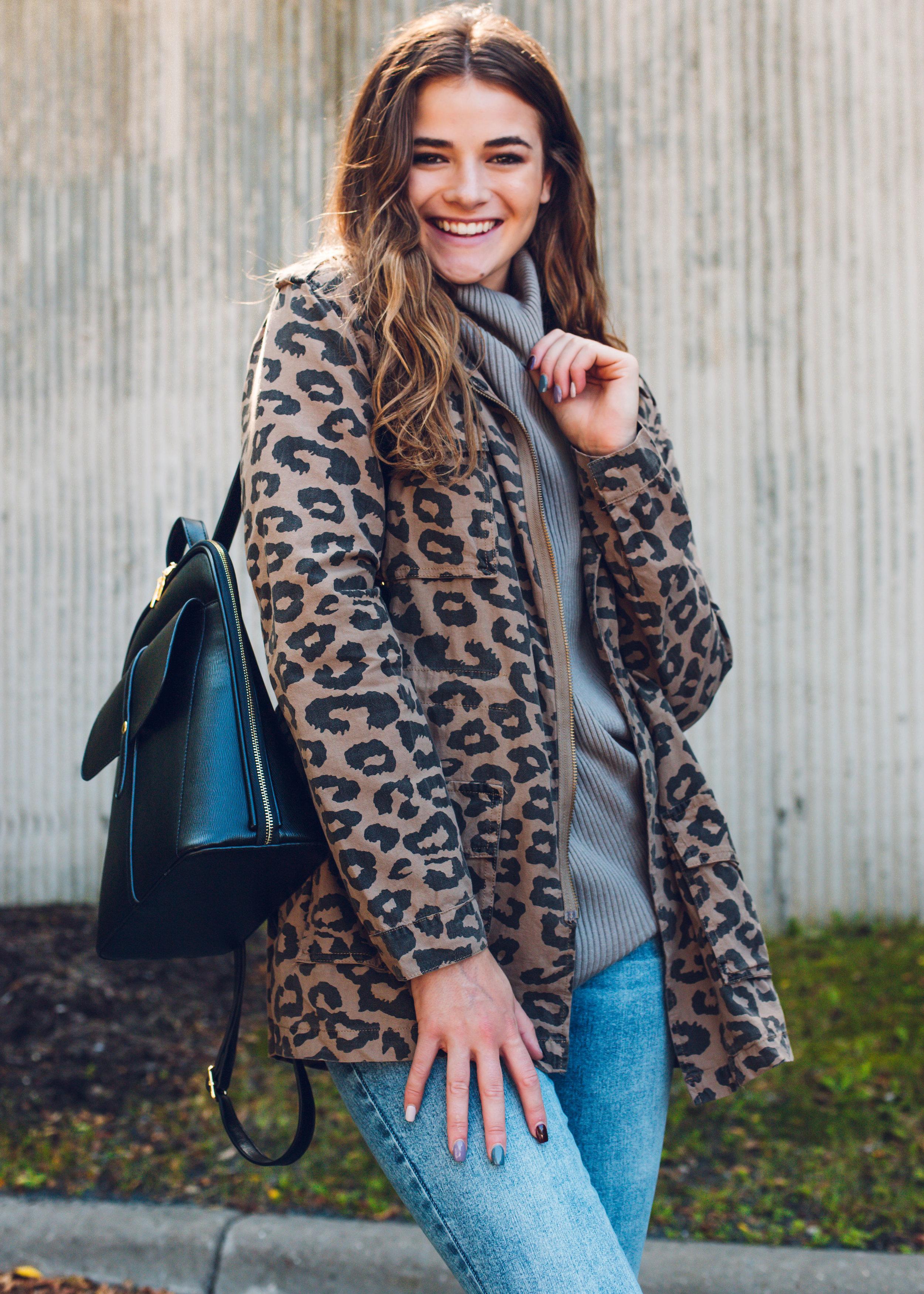 jacket $66 ,  sweater $22 ,  Backpack $52