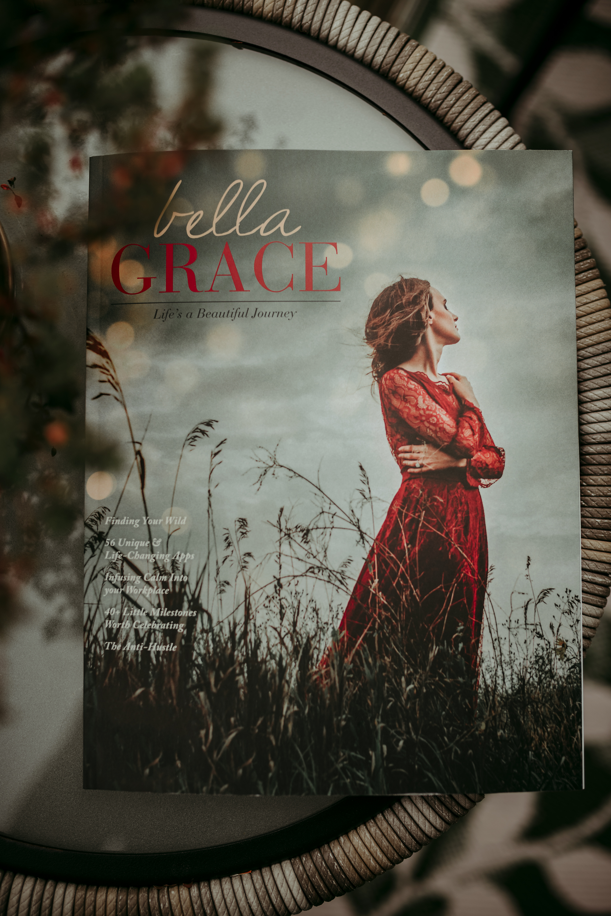 Click on the image to purchase your own copy!! Search for  Bella Grace Magazine  Issue 17 :)