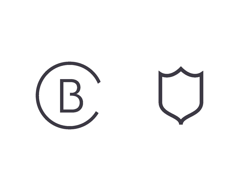 Secondary Marks: Monogram & Shield