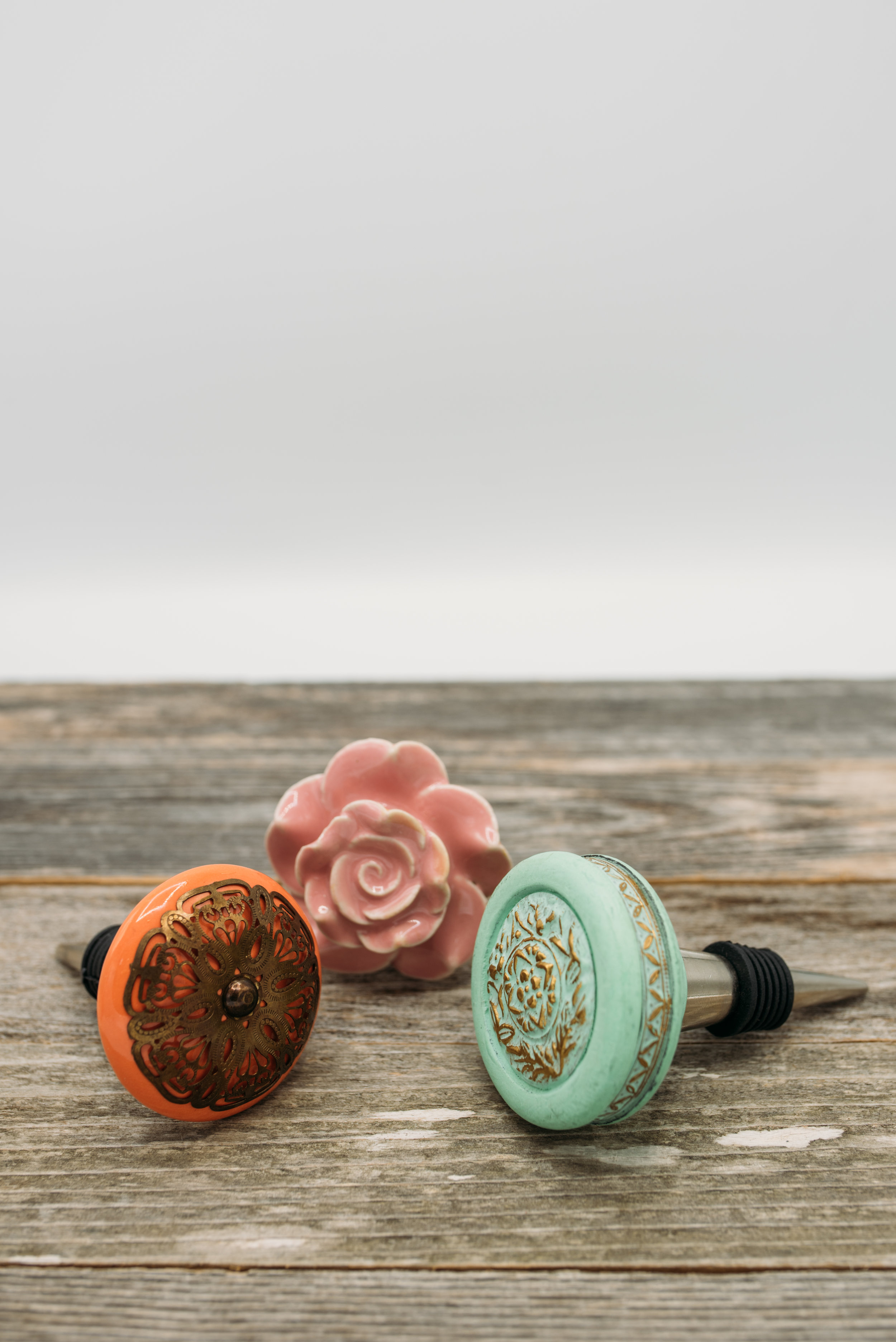 Decorative Wine Stoppers -$15.25 each