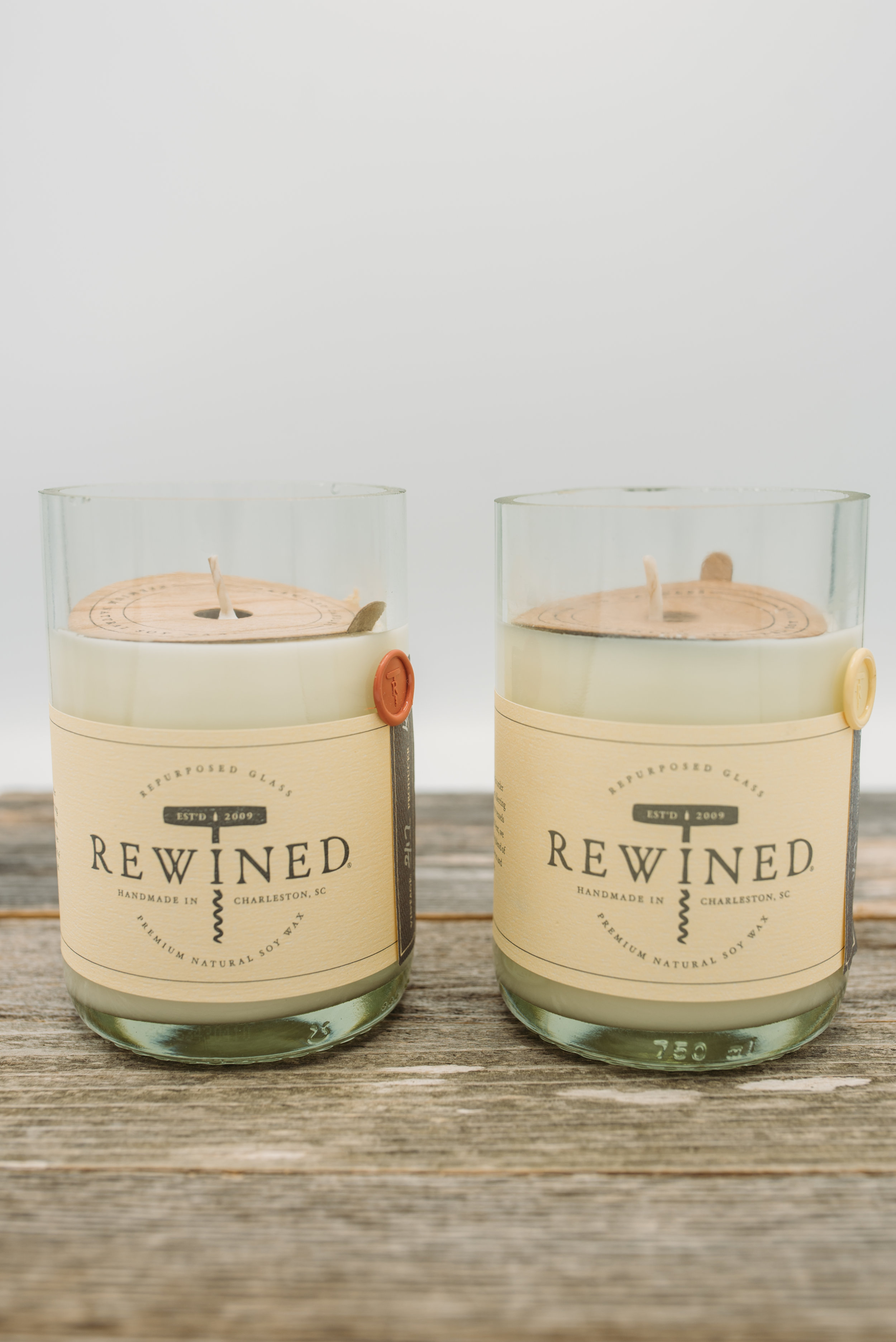 Wine Scented Soy Candles -$24.95