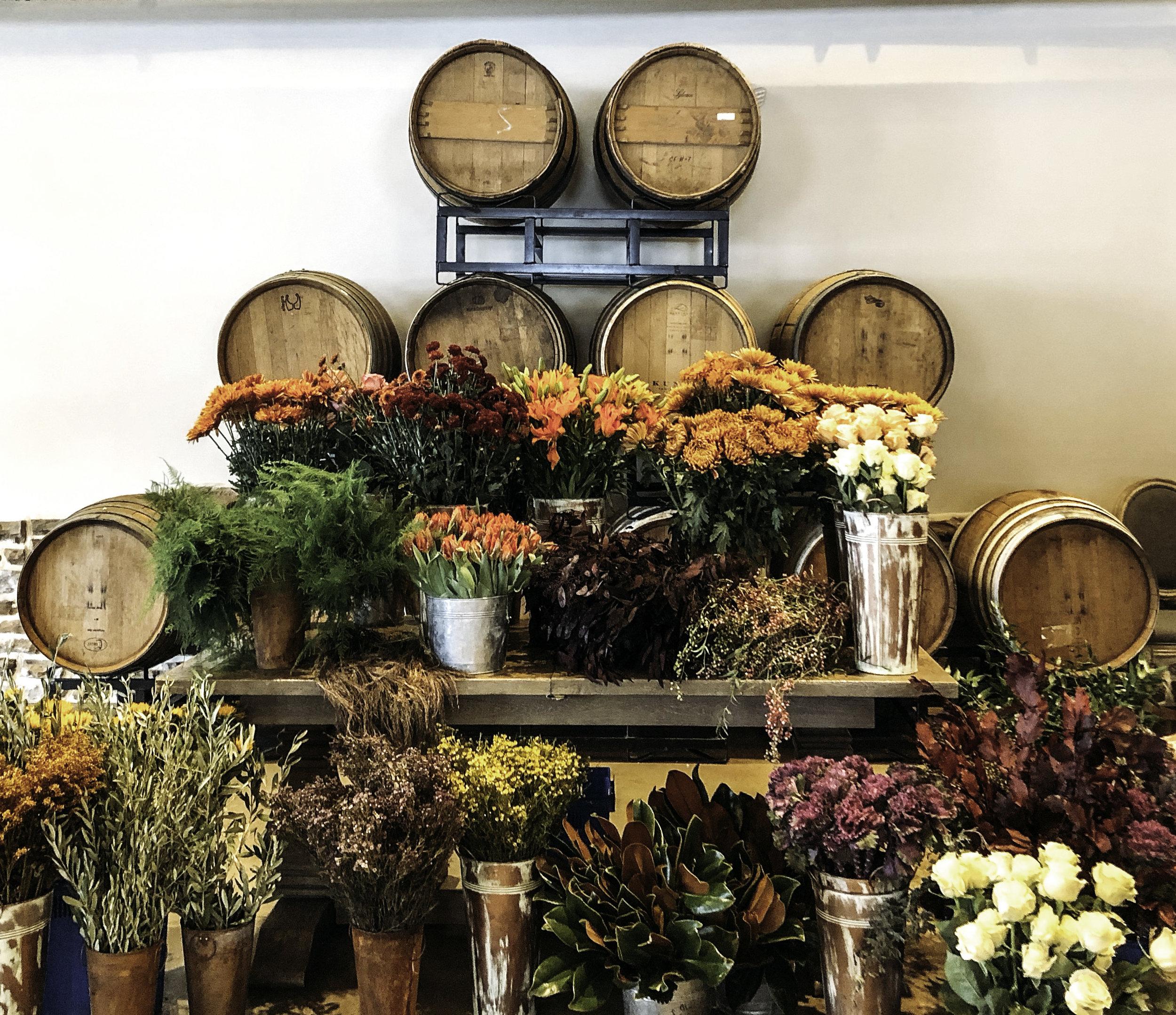 Fall Floral Workshop - November, 2018