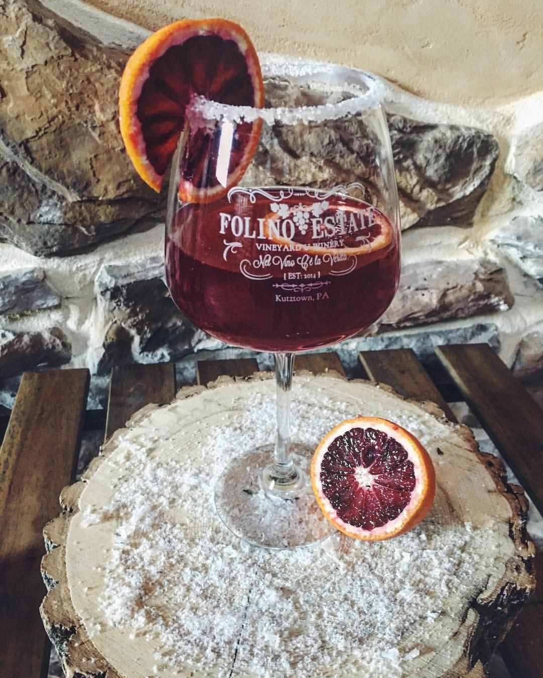 January Sangria: Sicilian Blood Orange