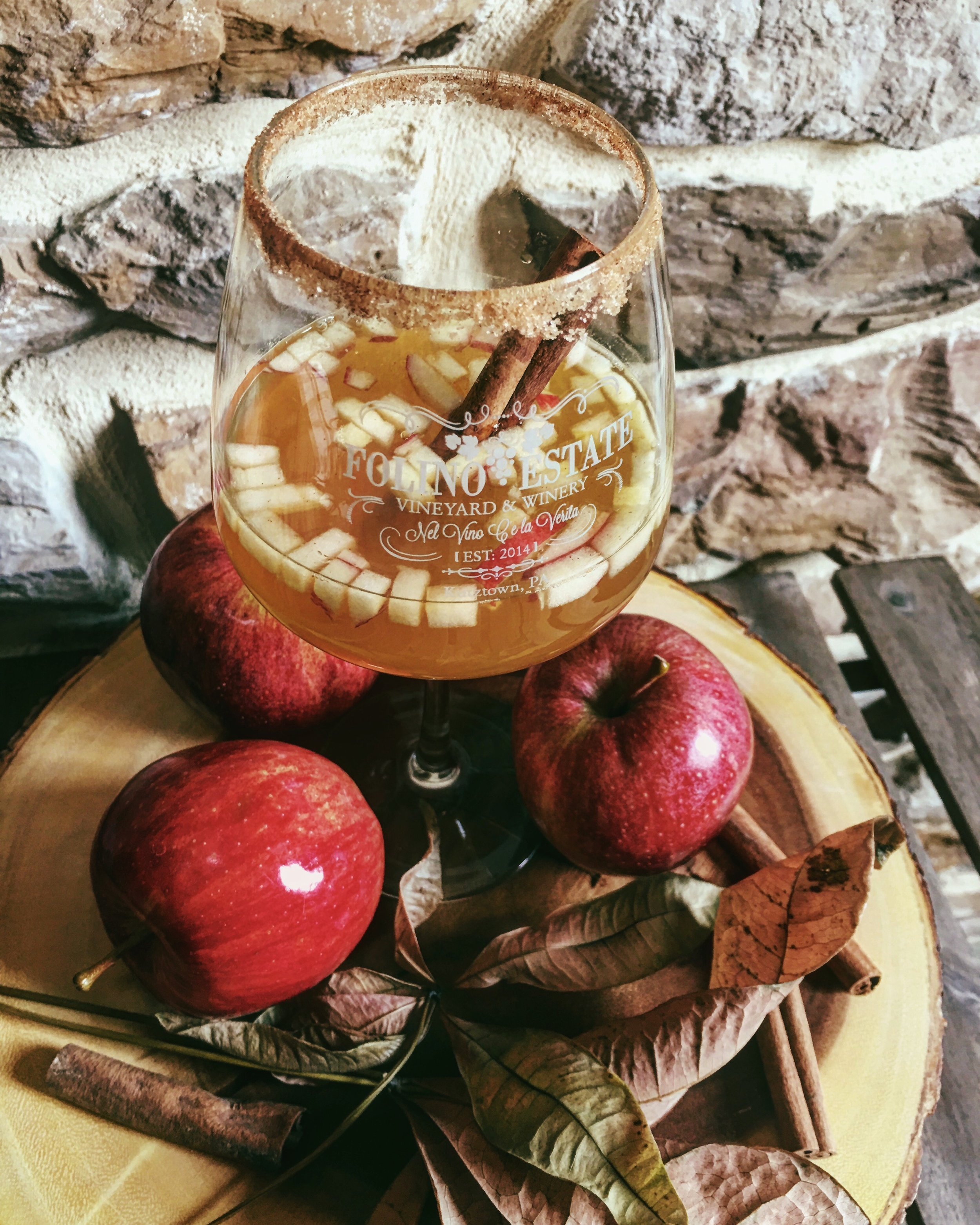 September Sangria: Cinnamon Apple Cider