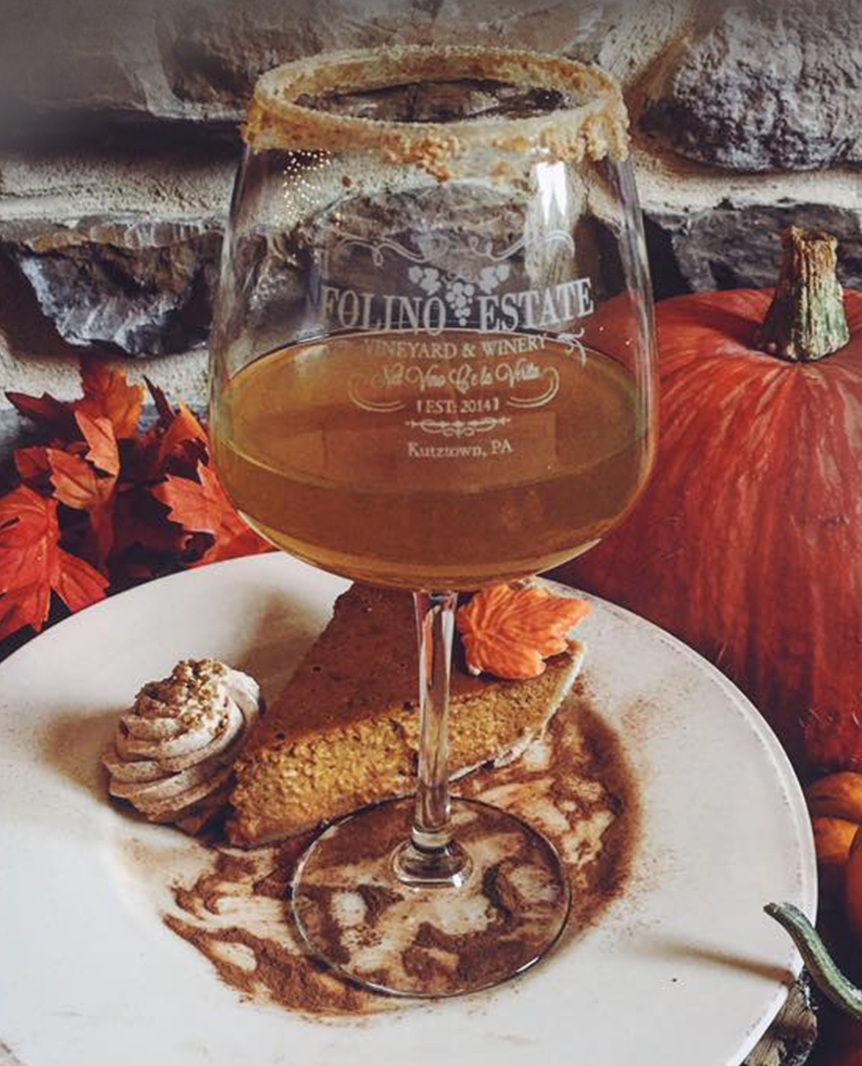 October Sangria: Pumpkin Pie