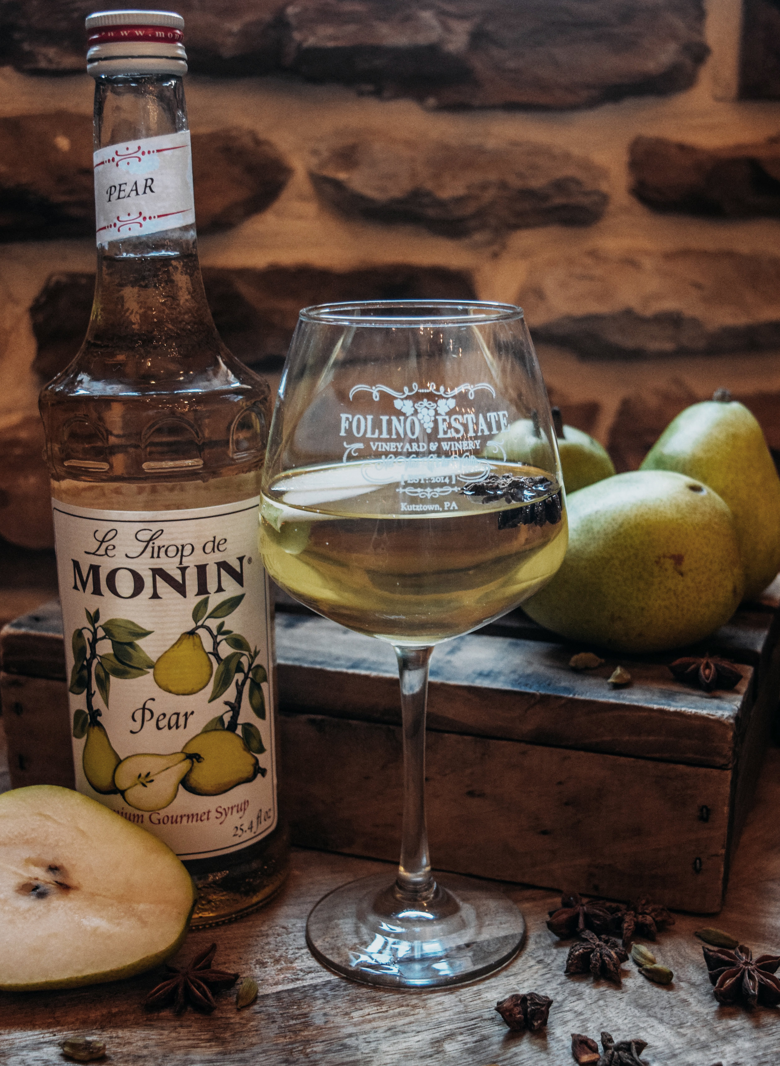 November Sangria: Spiced Pear