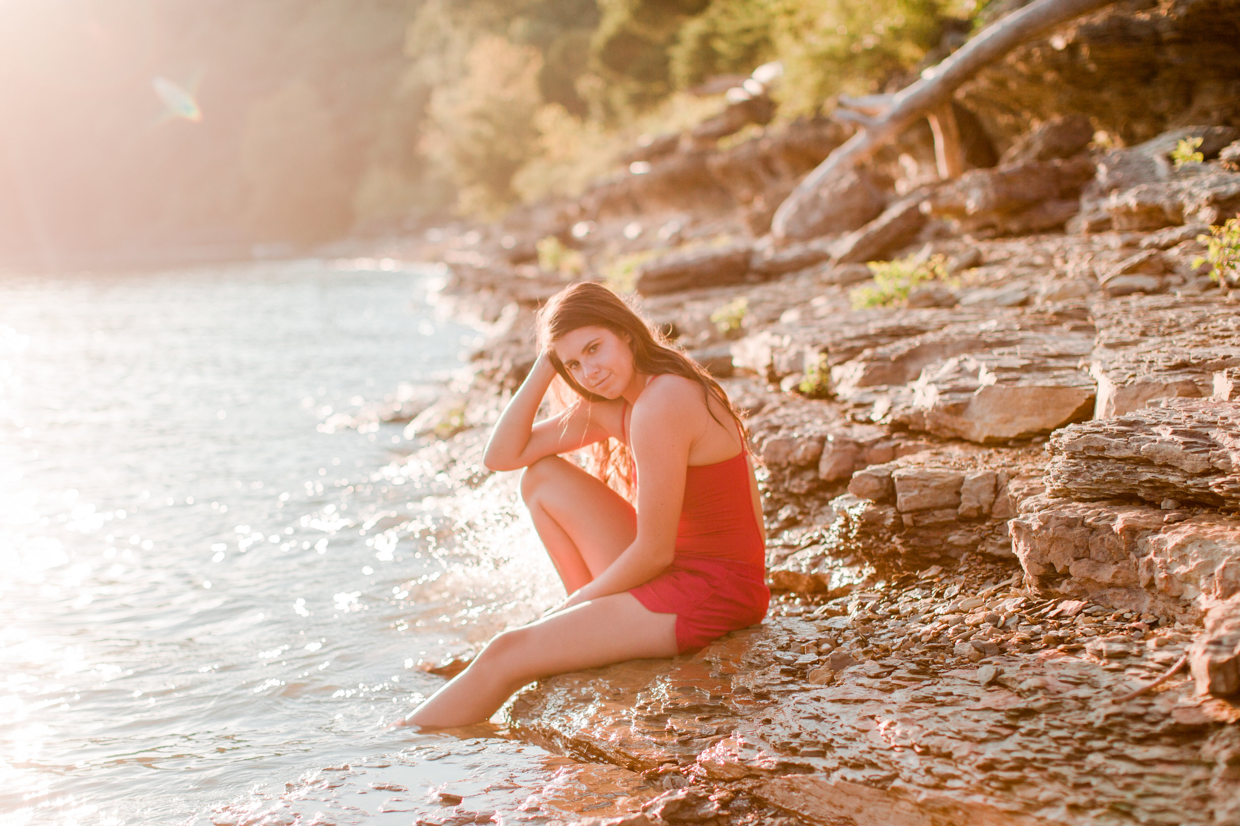 Carly has worked as a Lifeguard for a while now and loves what she does!
