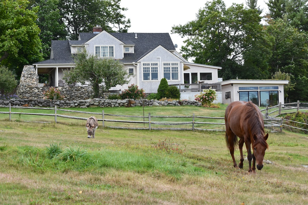 FARMHOUSE RENOVATION AND LAP POOL Ashburnham, MA | 2014