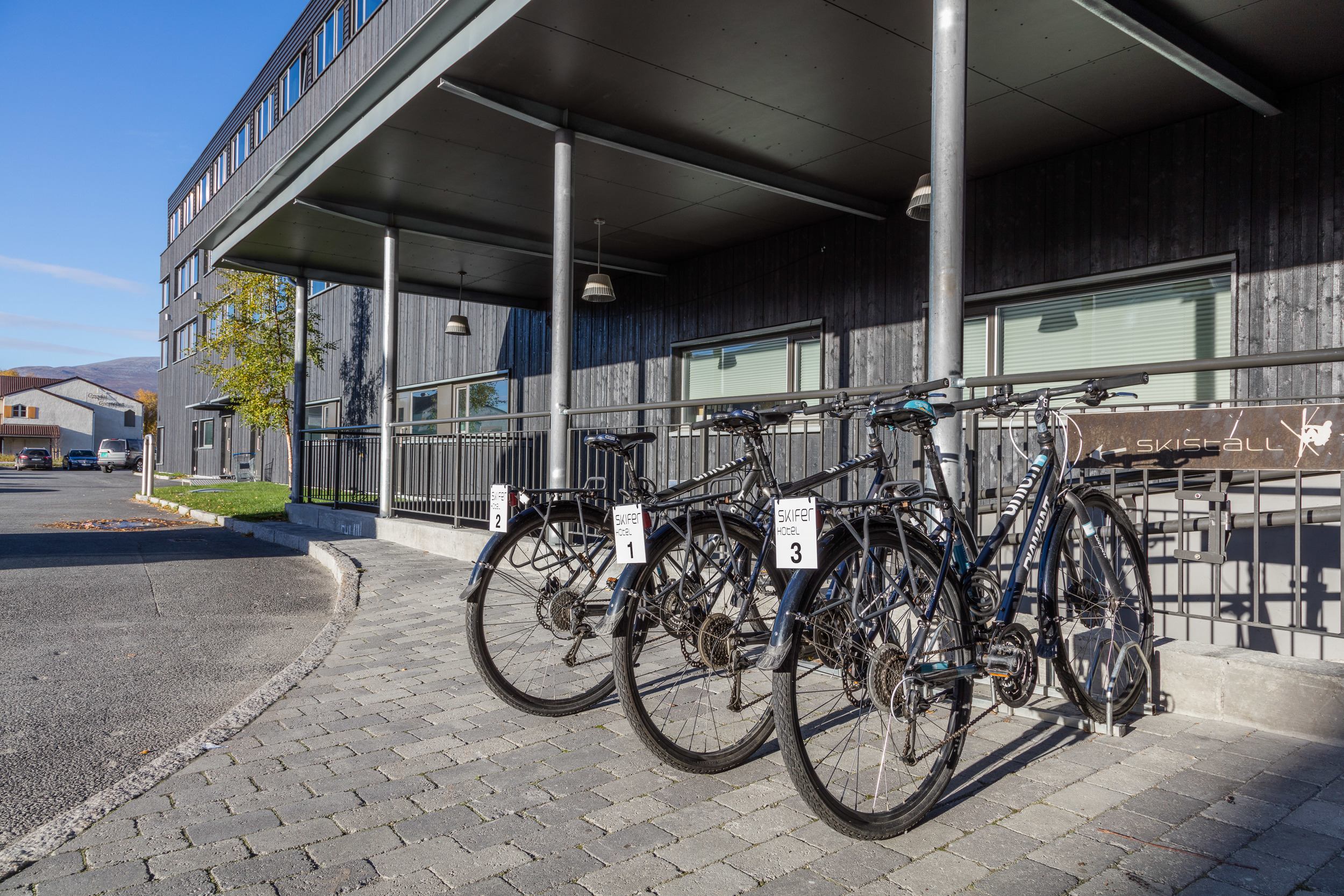 How about outdoor meetings on our bikes?