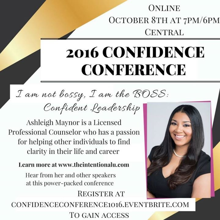 2016 Confidence Conference